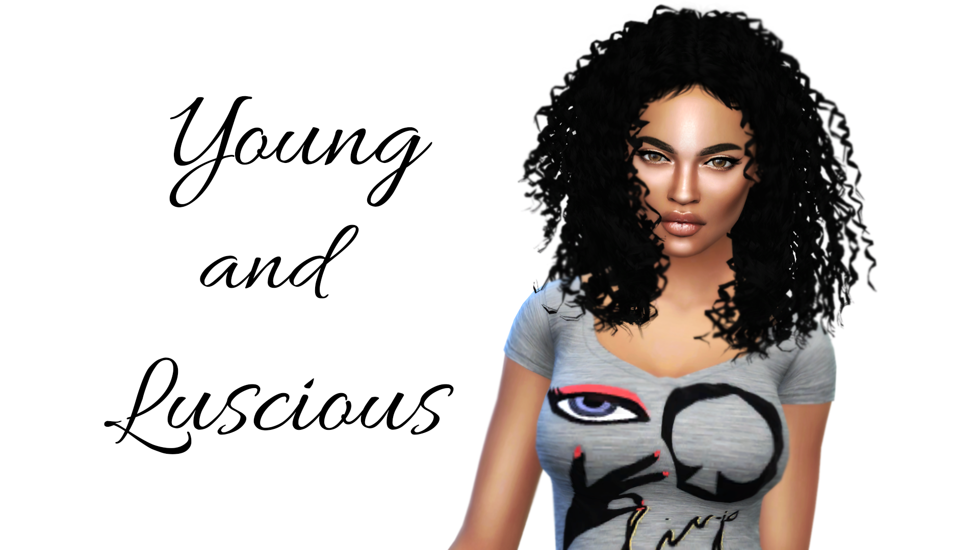 The Sims 4 I Create A Sim Young And Luscious