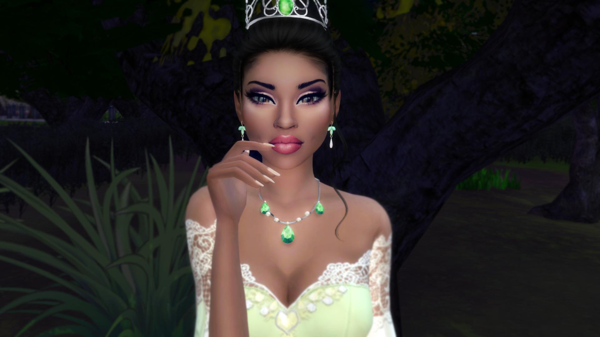 The Sims 4 I The Princess And The Frog I Tiana
