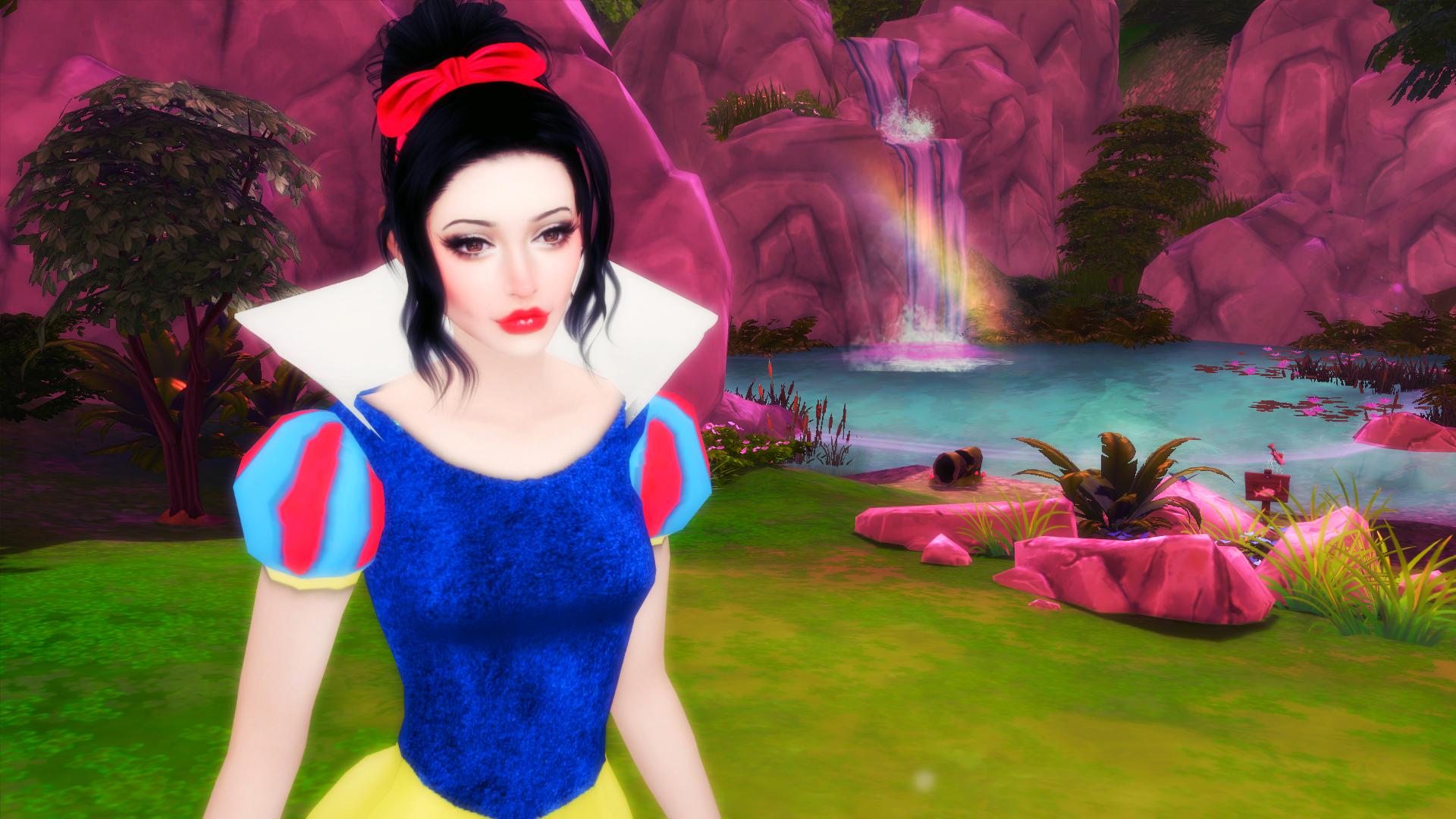 the sims 4 i snow white